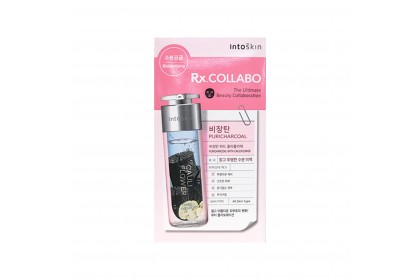 INTOSKIN RX. COLLABO Puricharcoal With Cauliflower Mask [1ea]